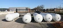Tanks en silo's stralen en afwerken